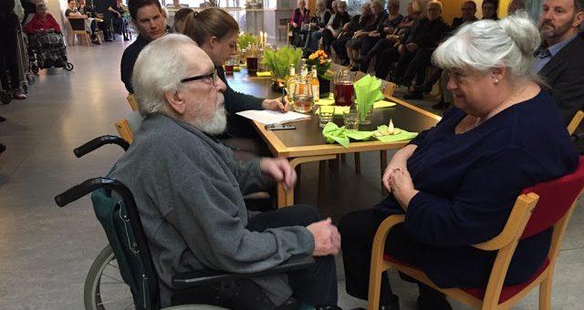 Besøg af Sundheds- og ældreminister Thyra Frank
