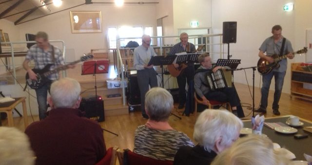 Sang og musik med Svankjær Savværk