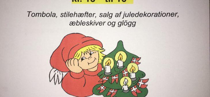 Husk vores julestue på søndag